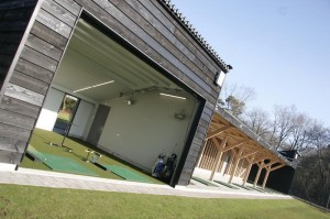 Indoor Putting Green & Afslagplaatsen